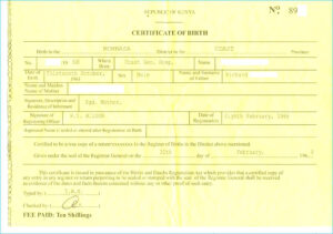Birth Certificate Template Us Sample New Fabulous 10 Best for Birth Certificate Template Uk
