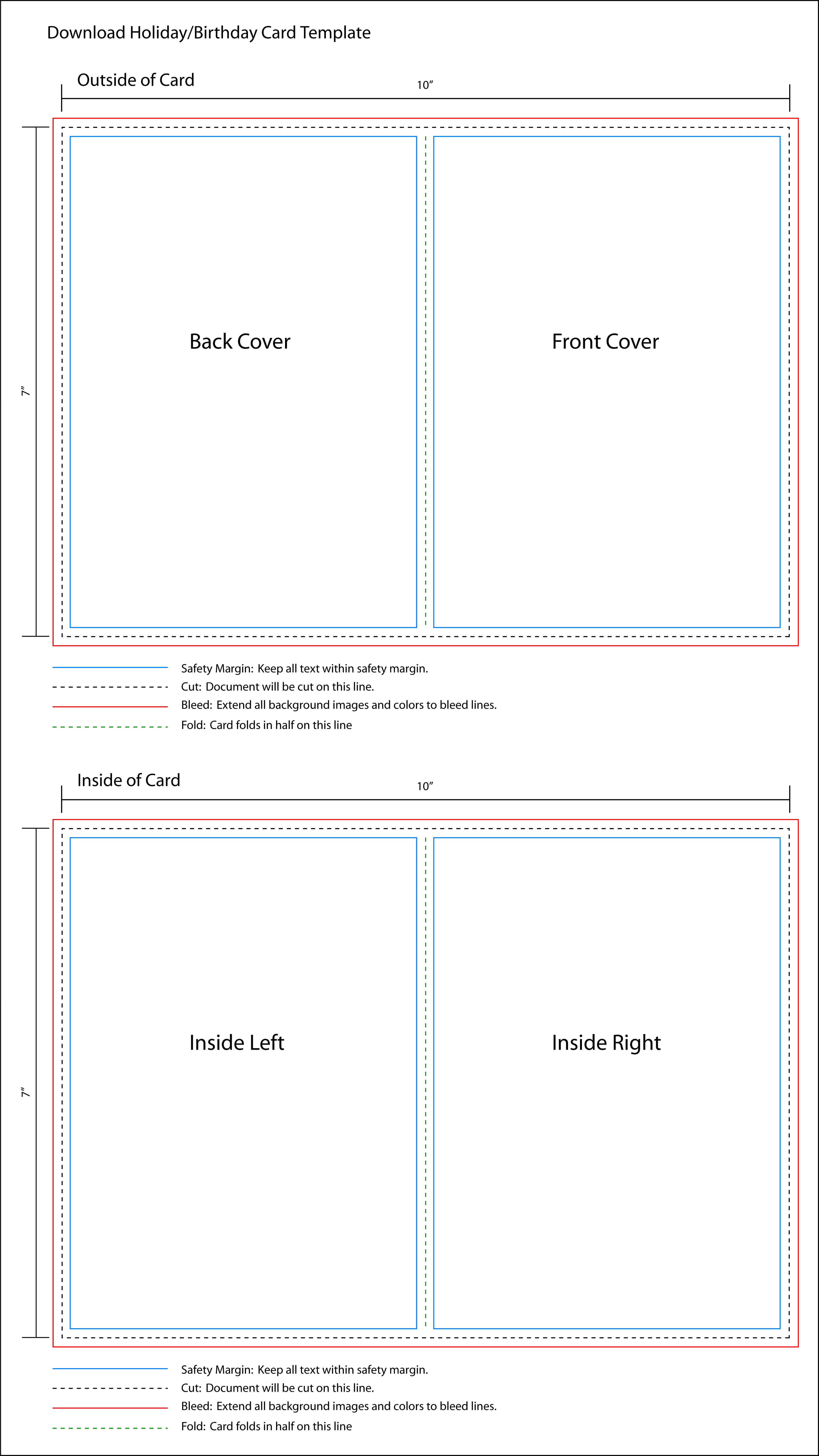 Birthday Card Template Indesign Within Indesign Birthday Card Template