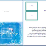 Birthday Card Template Word (10) – Cover Letter Inside Microsoft Word Birthday Card Template
