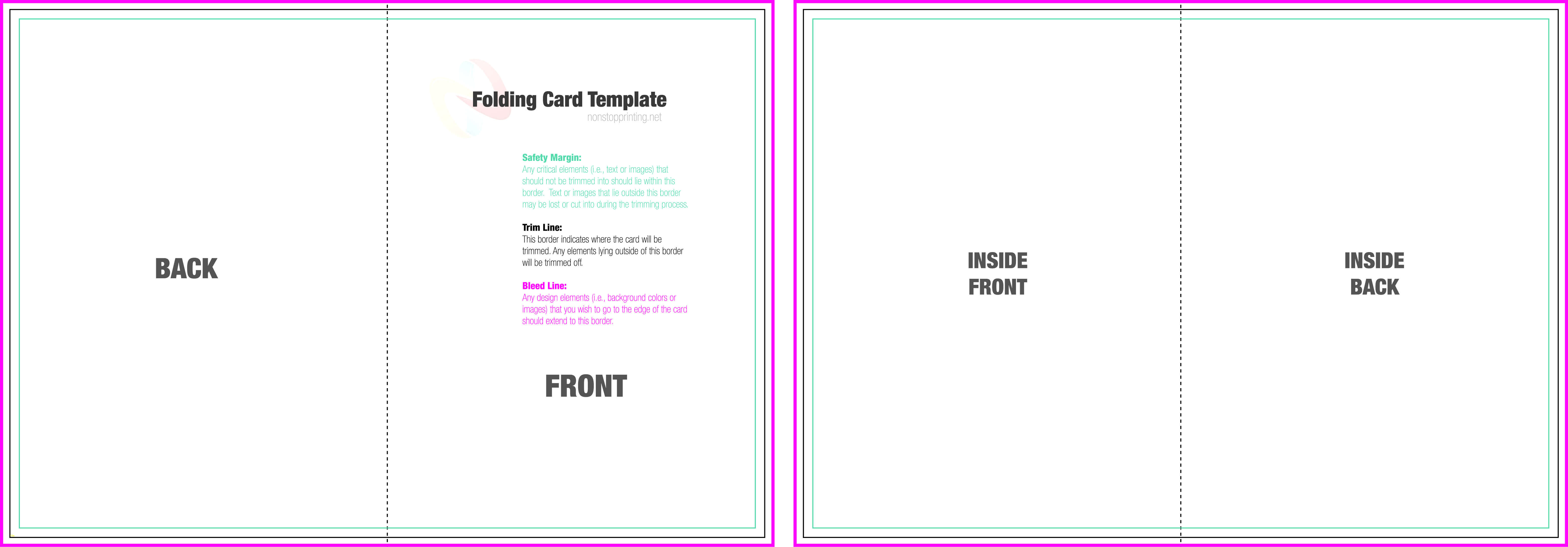 Birthday Card Template Word 2013 Quarter Fold Document Text For Quarter Fold Birthday Card Template