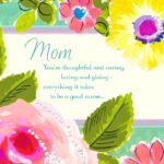 Birthday Cards For Boyfriends Mother Mom And Dad From Inside Mom Birthday Card Template