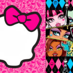 Birthday Design Collections — Birthday Design Vectors And Regarding Monster High Birthday Card Template
