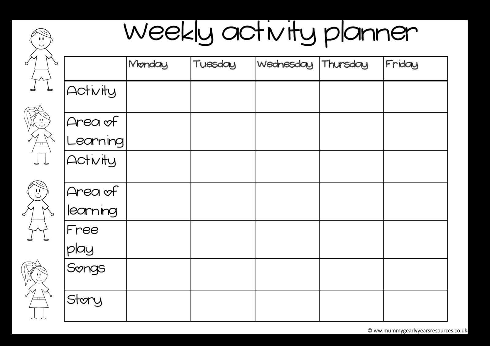 Blank Activity Calendar Template 28 Templates Also With In Blank Activity Calendar Template