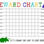 Blank Behavior Charts For September   Calendar Format Example Intended For Blank Reward Chart Template