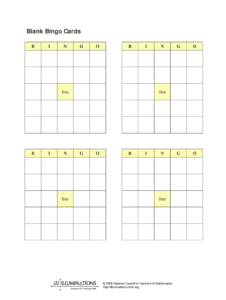 Blank Bingo Cards – Fill Online, Printable, Fillable, Blank intended for Blank Bingo Template Pdf