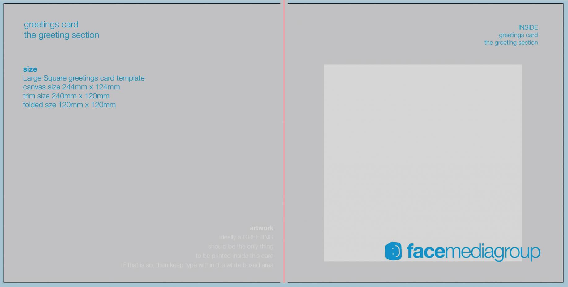 Blank Birthday Card Template Microsoft Word Download A4 Within Foldable Birthday Card Template