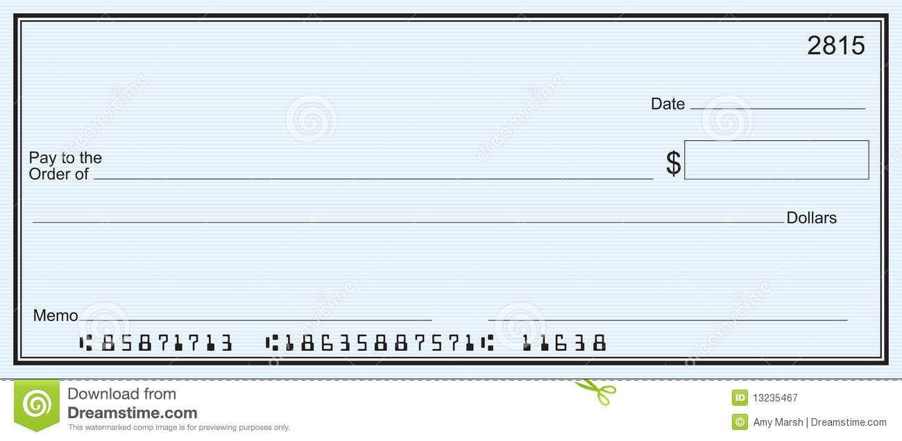 Blank Business Check Template | Blank Check | Blank Check Pertaining To Print Check Template Word