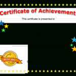 Blank Certificate Of Achievement Clipart Images Gallery For With Regard To Blank Certificate Of Achievement Template