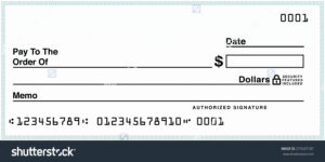 Blank Check Template Pdf pertaining to Editable Blank Check Template