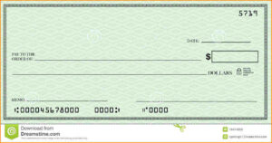 Blank Check Template | Template Business throughout Editable Blank Check Template