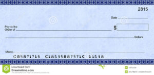 Blank Check Templates For Microsoft Word | Template Business intended for Blank Business Check Template Word