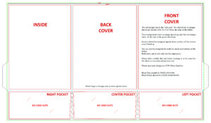 Blank Design Templates in Tri Fold Tent Card Template