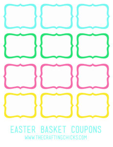 Blank Easter Coupon Template – Hd Easter Images Inside Blank Coupon Template Printable