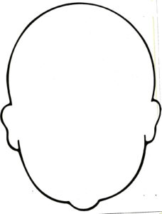 Blank Face Coloring Page – Bing Images | Work Ideas | Face for Blank Face Template Preschool