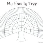 Blank Family Trees Templates And Free Genealogy Graphics Inside Blank Tree Diagram Template