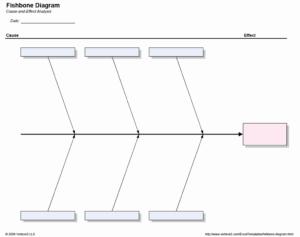 Blank Fishbone Diagram Template | Wesleykimlerstudio With Regard To Blank Fishbone Diagram Template Word