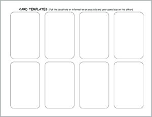 Blank Flash Card Template Word – Verypage.co intended for Word Cue Card Template