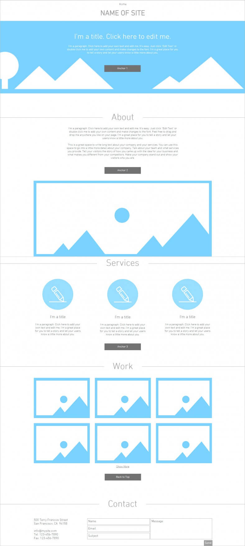 Blank Html5 Website Templates & Themes | Free & Premium in Html5 Blank Page Template
