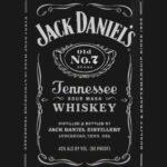 Blank Jack Daniels Label Template 12 Clarifications On Intended For Blank Jack Daniels Label Template