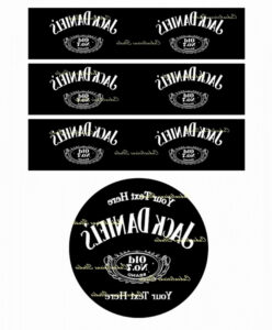 Blank Jack Daniels Label Template Best Of Download Vector within Blank Jack Daniels Label Template