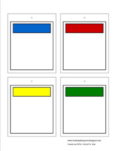 Blank Monopoly Property Cards. To Write In The Bible Memory inside Monopoly Property Card Template