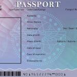 Blank Passport Template – Google Search … | Passport Pertaining To Borderless Certificate Templates