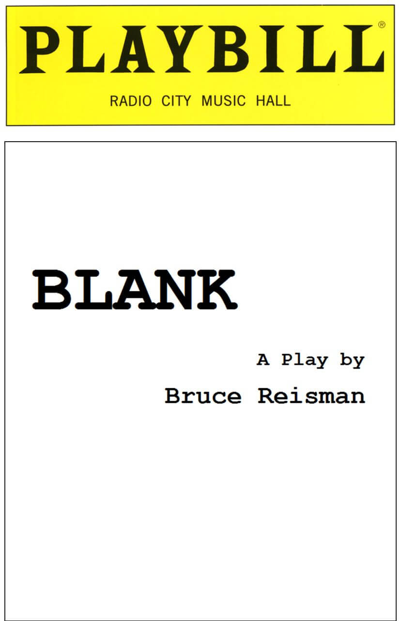 Blank Playbill Cover Blank Playbill Template Corrzoodicsu50S Throughout Playbill Template Word