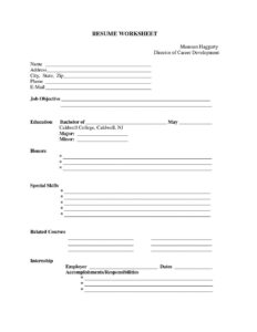 Blank Resume Template To Print | Universal Network in Free Blank Cv Template Download