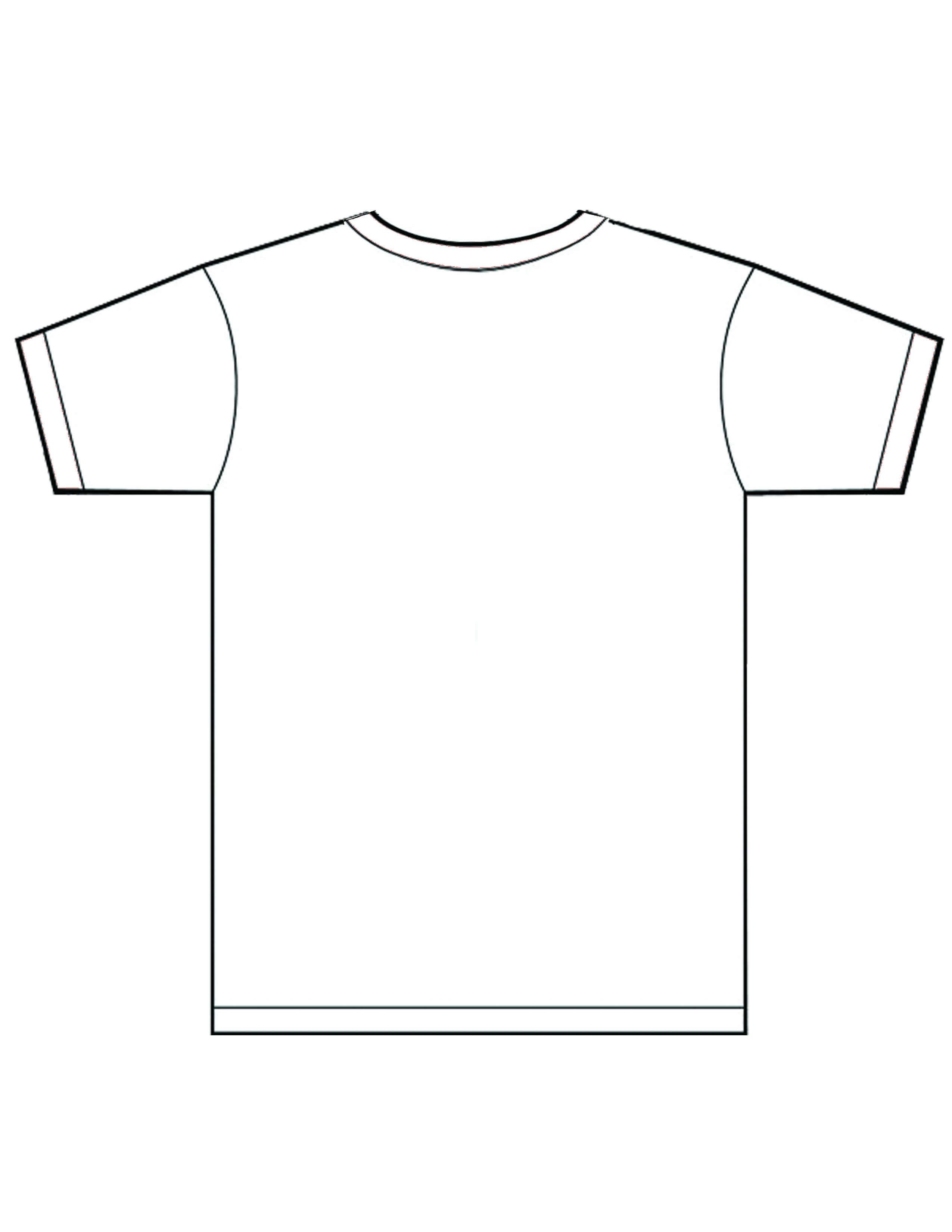 Blank Shirt Template Pdf | Azərbaycan Dillər Universiteti For Blank Tshirt Template Pdf