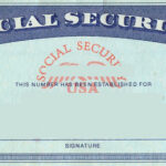 Blank Social Security Card Template | Social Security Card with Ssn Card Template