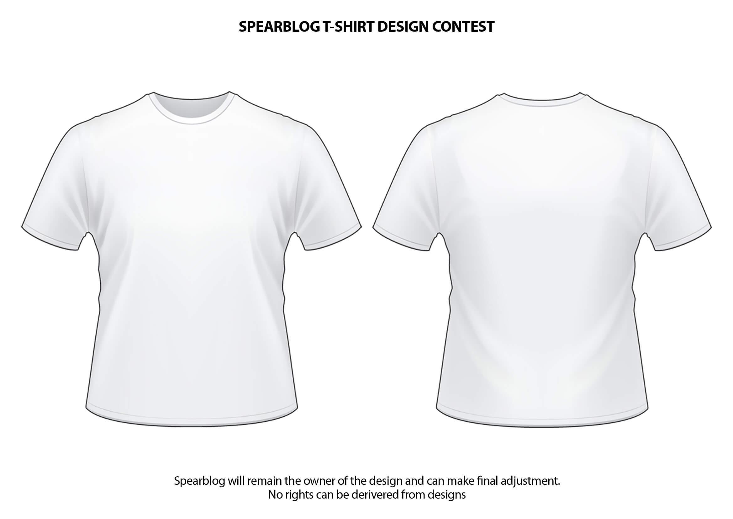 Blank T Shirt Psd Template | Azərbaycan Dillər Universiteti Throughout Blank T Shirt Design Template Psd
