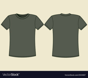 Blank T-Shirt Template with regard to Blank Tee Shirt Template