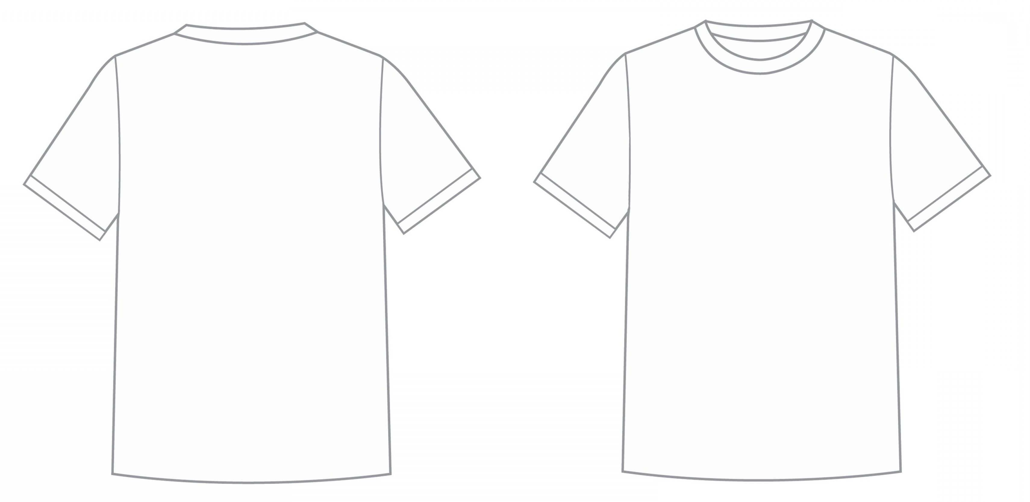 Blank Tee Shirt Template Luxury Blank T Shirt Outline For Blank Tee Shirt Template