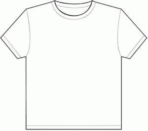 Blank Tee Shirt Template T Shirts Vector   Soidergi in Blank Tshirt Template Pdf