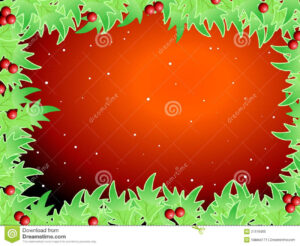 Blank Template For Christmas Greetings Card Royalty Free throughout Blank Christmas Card Templates Free