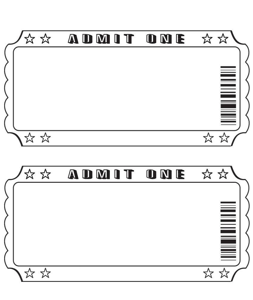 Blank Ticket … | Diy And Crafts | Ticke… With Blank Admission Ticket Template