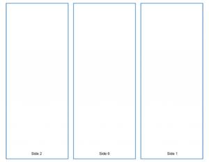 Blank Tri-Fold Brochure Template – Google Slides Free Download for Google Docs Tri Fold Brochure Template