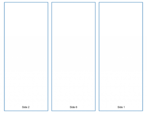 Blank Tri-Fold Brochure Template – Google Slides Free Download inside Google Doc Brochure Template