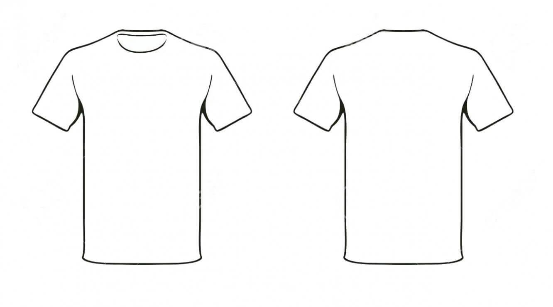 Blank Tshirt Template Free – Nils Stucki Kieferorthopäde Intended For Printable Blank Tshirt Template