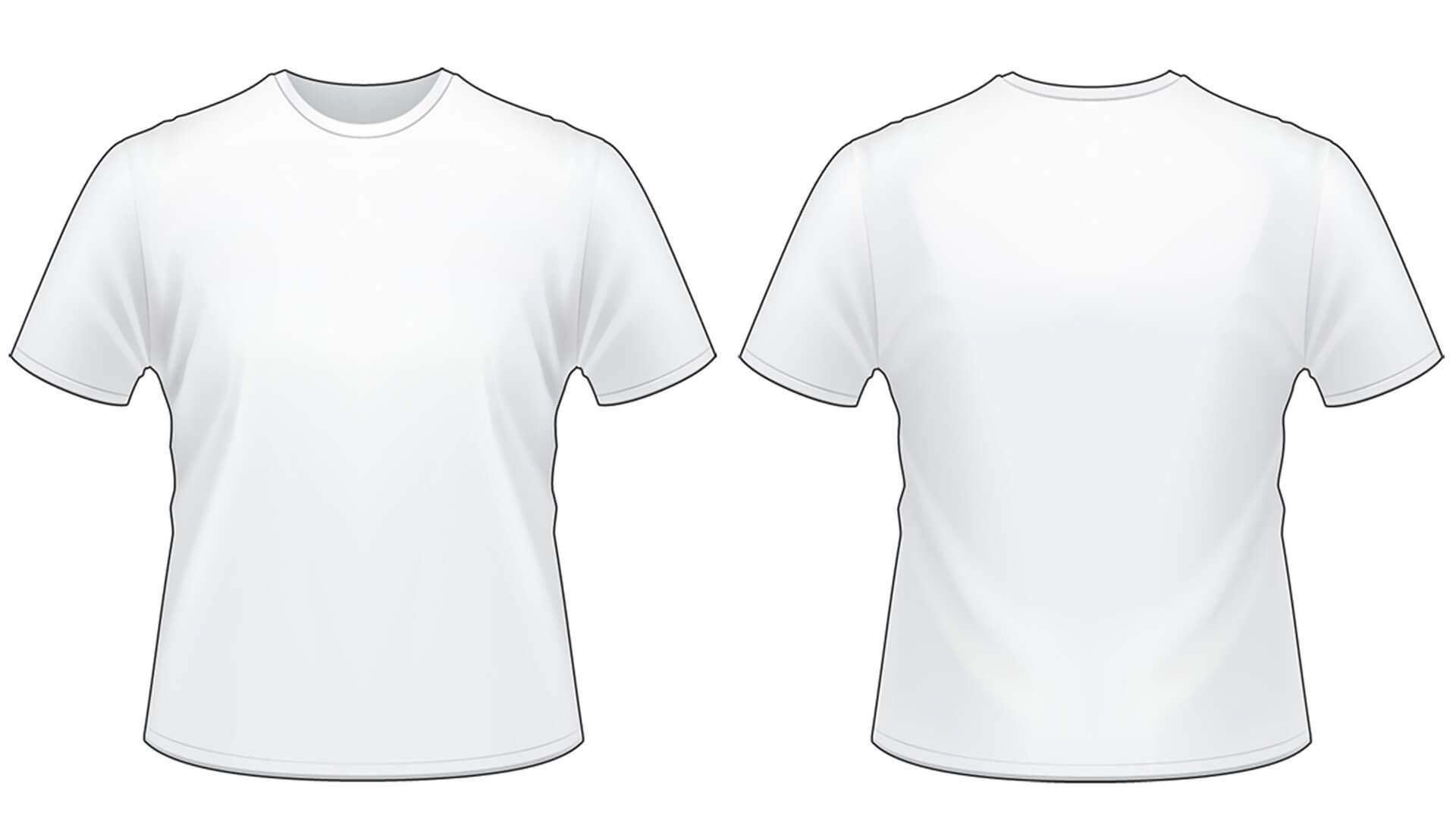 Blank Tshirt Template Worksheet In Png | Download | T Shirt In Printable Blank Tshirt Template