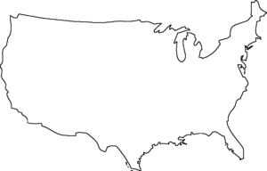 Blank Us Map – Dr. Odd | Geography | United States Map, Map intended for United States Map Template Blank