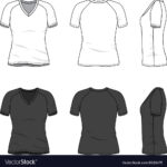 Blank V-Neck T-Shirt inside Blank V Neck T Shirt Template