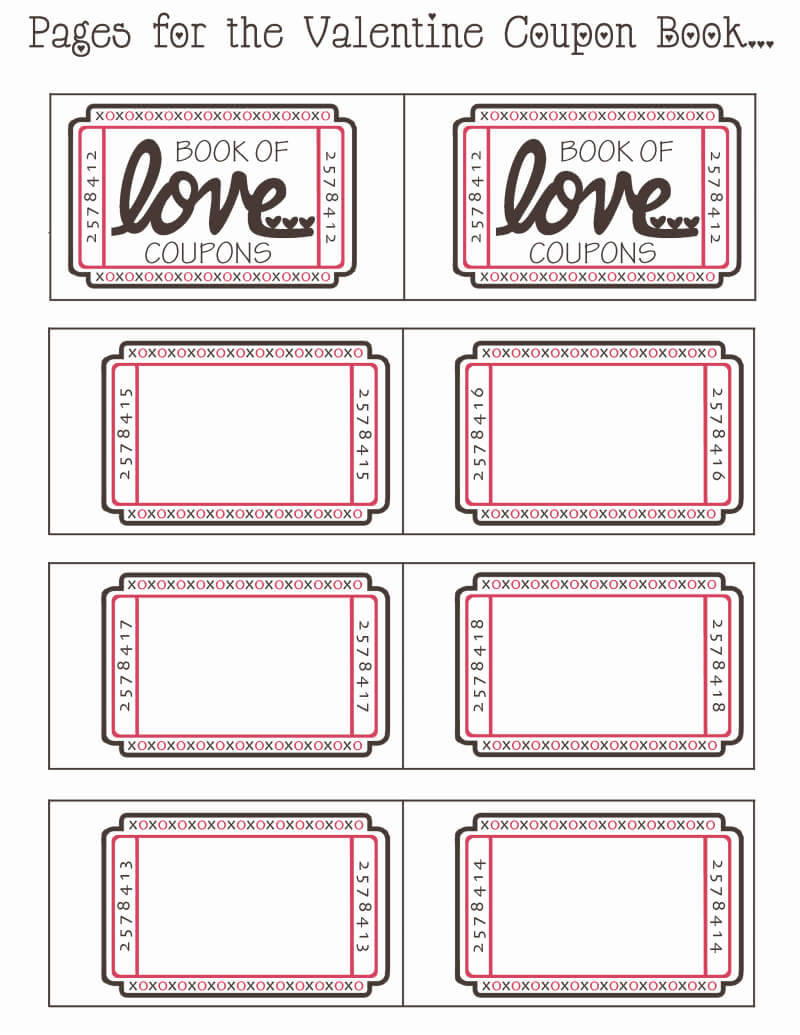 Blank Valentine Coupon Book.pdf - Google Drive | Bunco Intended For Blank Coupon Template Printable