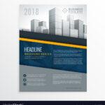 Blue Annual Report Brochure Cover Page Design Throughout Cover Page For Annual Report Template
