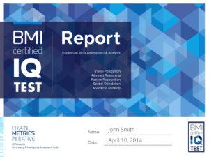 Bmi Certified Iq Test – Take The Most Accurate Online Iq Test! in Iq Certificate Template