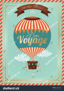 Bon Voyage Card Template – Verypage.co in Bon Voyage Card Template