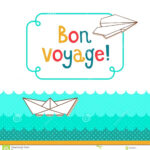Bon Voyage Card Template – Verypage.co intended for Bon Voyage Card Template