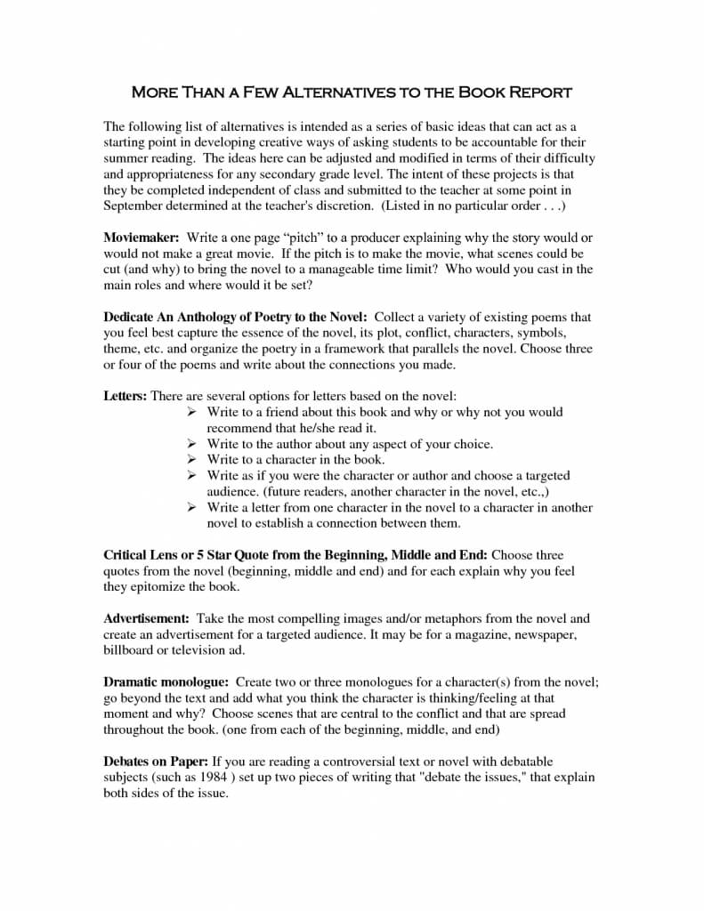 Book Report Example Ge Examples Of For Story Spreadsheet Pdf Regarding College Book Report Template