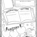 Book Report Poster (Updated) | Squarehead Teachers With One Page Book Report Template