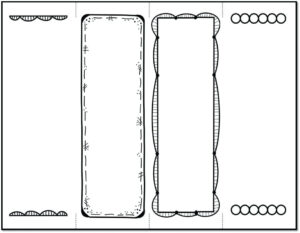 Bookmark Template Printable – Verypage.co for Free Blank Bookmark Templates To Print